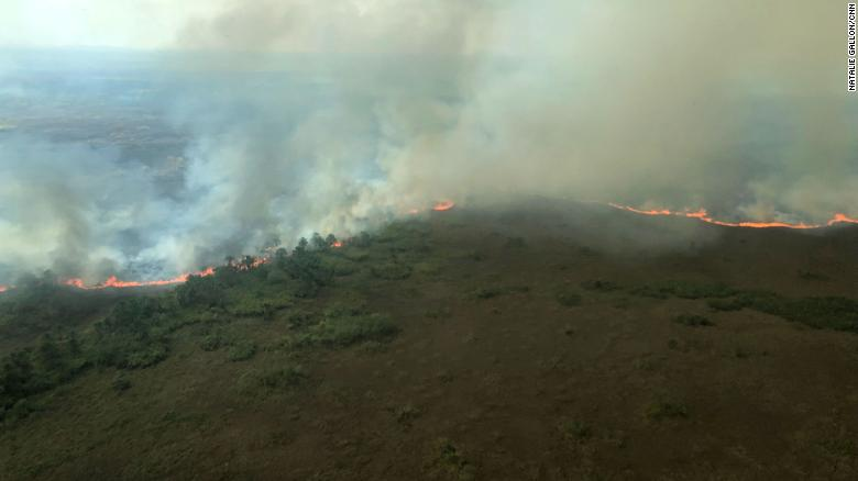 The Amazon Rain Forest Is Still On Fire