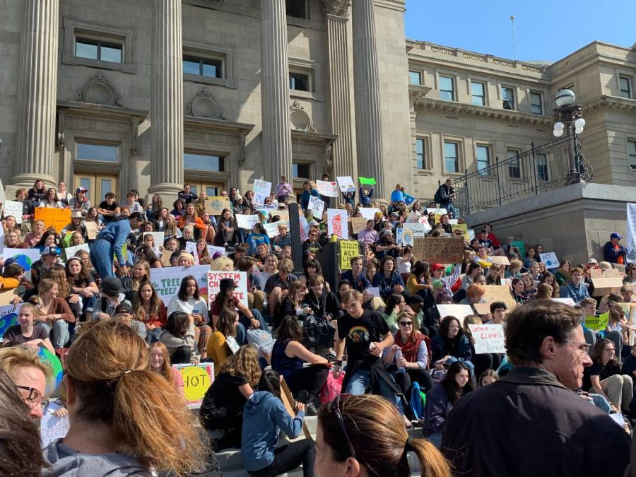 Nation-Wide Youth Strike against Climate comes to Boise